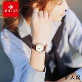 女錶復古防水手錶女學生日歷石英錶