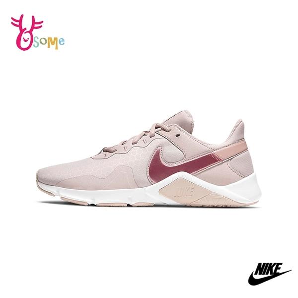 NIKE運動鞋 女鞋 慢跑鞋 跑步鞋 路跑 訓練鞋 透氣網布 LEGEND ESSENTIAL 2 Q7052#粉紅◆奧森