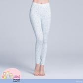 【WIWI】貝殼Ariel溫灸刷毛九分發熱褲(水漾藍 女S-2XL)