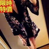 和服外套-日式復古精美花色防曬和風女罩衫68af28【時尚巴黎】