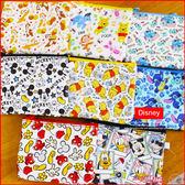 《最後現貨》迪士尼 史迪奇 小熊維尼 米奇 正版 迷你方形零錢包 票卡夾 鑰匙小物包 B10133