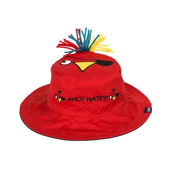 兒童遮陽帽 漁夫帽 Flapjack Kids 雙面造型遮陽帽 -  海盜 / 鸚鵡
