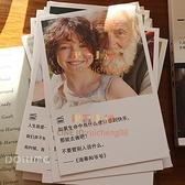 30張卡片 經典電影臺詞文字卡片文藝賀卡墻面裝飾卡片禮物留言卡【倪醬小鋪】