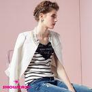 【SHOWCASE】波浪紋珠鍊領小外套...