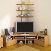 小戶型電視柜現代簡約伸縮三角落地式液晶家具經濟款