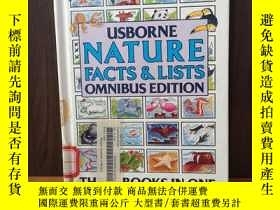 二手書博民逛書店Usborne罕見Nature Facts And Lists (Facts & Lists)Y12800 B