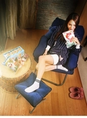 懶人沙發單人沙發椅學生宿舍電腦椅家用臥室現代簡約陽台靠背躺椅 NMS小明同學