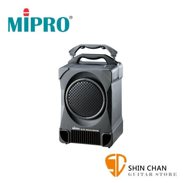 PA喇叭 Mipro MA-707 (2.4G) 專業型手提式無線擴音機 附 兩支無線麥克風 MA707