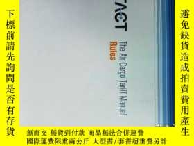 二手書博民逛書店IATA罕見- The Air Cargo Tariff and