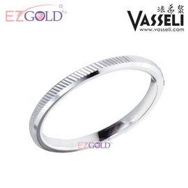 VASSELI ◤定情小戒◢ 鎢鋼戒指(銀白色)