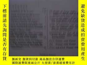 二手書博民逛書店DEPTH罕見OF FOCUS TABLES FOR LENSE