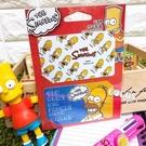 迪士尼悠遊卡貼票卡貼紙 辛普森家族 荷馬 滿版河馬 悠遊卡貼票卡貼紙 COCOS DS025