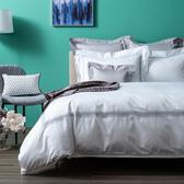 (組)義式孟斐斯埃及棉床被組白特大