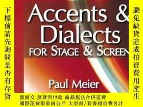 二手書博民逛書店Accents罕見And Dialects For Stage And ScreenY256260 Paul