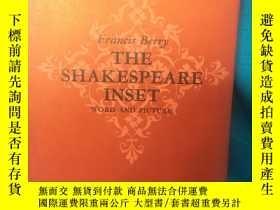 二手書博民逛書店The罕見Shakespeare Inset:Word and