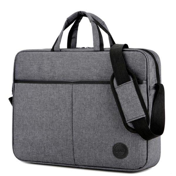 筆電包 聯想戴爾蘋果防水14寸15寸15.6寸防震肩背包手提包男女式筆電電腦包
