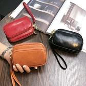 錢包 錢包女短款2021新款韓國迷你零錢包貝殼小硬幣包袋大容量手拎錢包【快速出貨八折搶購】