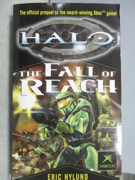 【書寶二手書T1/原文小說_MSH】HALO-The Fall of Reach_Eric Nylund