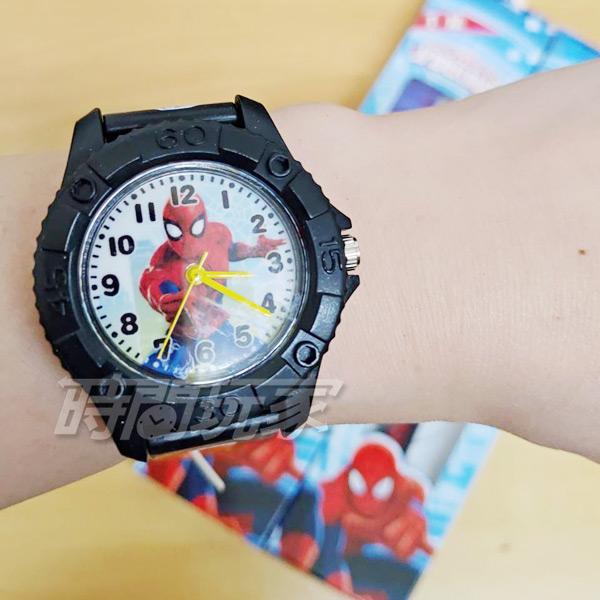 Disney 迪士尼 卡通手錶 漫威 蜘蛛人 兒童手錶 男錶 黑色 U9-9505黑