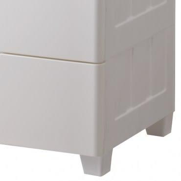 日本 IRIS 深色天板五層收納櫃 42x73x102.5cm