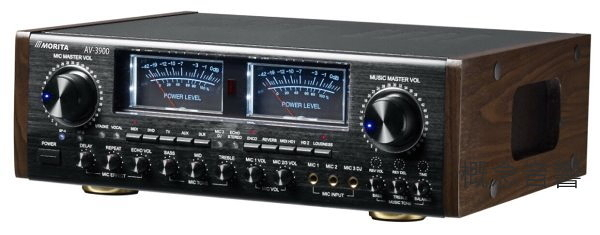 森田 MORITA AV-3900 頂級數位ECHO/REVERB卡拉OK擴大機