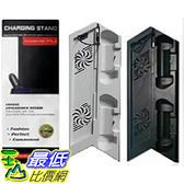 [玉山網] PS4 1107 1207 專用 PS4 直立架 立架+雙風扇 散熱器+雙手把充電座 含3個 USB 擴充孔(_J324)dd