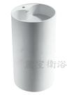 【麗室衛浴】BA2012  人造石落地圓柱盆 有龍頭孔 45*45*H85CM C-103