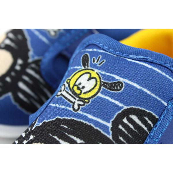 Disney 迪士尼 TSUM TSUM 休閒布鞋 魔鬼氈 藍色 小童 419810 no146