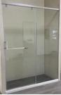 【麗室衛浴】一字2門 一固一活 緩衝門片 尺寸150*H190內