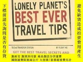 二手書博民逛書店Lonely罕見Planet s Best Ever Travel Tips (general Reference