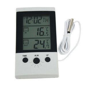 大屏幕室內外溫度顯示計