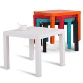 宜家小方桌簡約小木桌茶幾几小餐桌迷你簡易家用小茶桌現代拉克邊桌