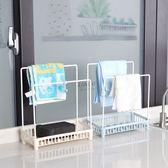 【TT 】鐵藝瀝水架水槽收納置物架廚房台面海綿抹布架子浴室收納架