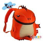 圖兔TUTU幼兒園書包男孩女寶寶2-6歲背包兒童包可愛個性卡通恐龍