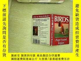 二手書博民逛書店Birds罕見of the puget sound region