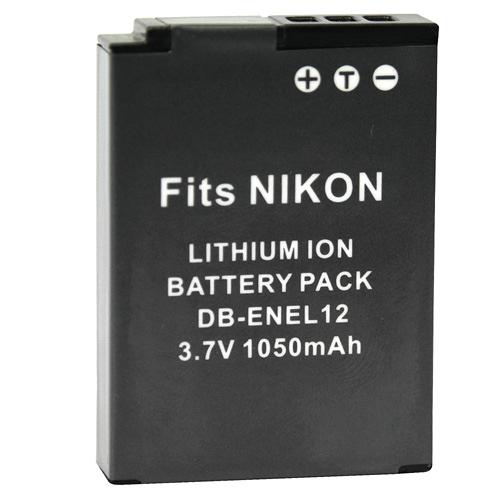 Kamera Nikon EN-EL12 高品質鋰電池 S6000 S6100 S6150 S6200 S6300 S8000 S8100 S8200 S9100 S9200 S9300 保固1年