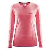 【速捷戶外】瑞典Craft 1903714 全天候長袖內著衣(女)-桃紅, 滑雪 跑步 路跑 野跑 馬拉松 夜跑