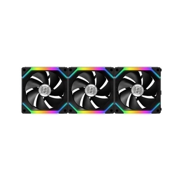 LIAN LI 聯力 UNI FAN 積木風扇 SL120 (三顆裝/黑色) – SL120-3B