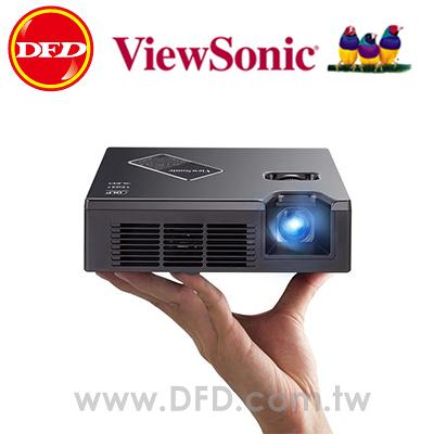 ViewSonic 優派 PLED-W800 掌上型LED投影機 800流明 720p 寬螢幕 加碼贈原廠USB無線Dongle 公司貨