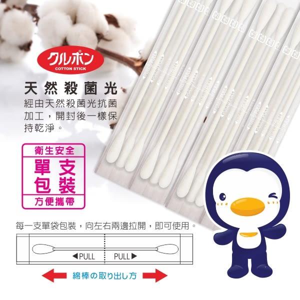 【奇買親子購物網】PUKU 抗菌極細軸棉棒100pcs