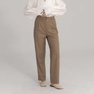 Queen Shop【04030298】質感打褶設計西裝長褲 S/M/L*現+預*