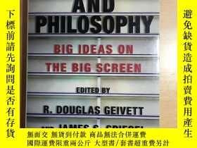 二手書博民逛書店Faith罕見Film and Philosophy big i