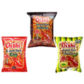 菲律賓 Oishi 特辣蝦餅/辣蝦餅/綠辣椒味蝦餅 (45g) 3款可選【小三美日】