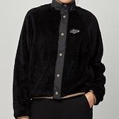 Nike NSW jkt plush vrsty 女款 黑色 毛絨 運動 休閒 長袖 外套 CU6424-010