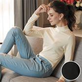 華歌爾-極衣恆溫M-LL 厚刷立領保暖衣(黑)保暖柔暖LT298318-BL