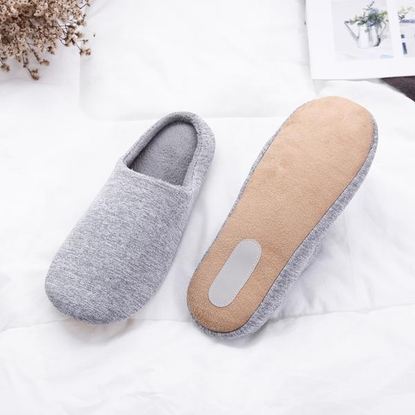 【333家居鞋館】日系柔綿 素色品味室內布拖鞋-桃紅色