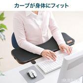 摺疊電腦手托手臂支撐手臂托鼠標托架桌面桌面延伸板  台北日光