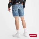 Levis 男款 501 93 復古排釦直筒牛仔短褲 / 彈性布料 / 不收邊褲口