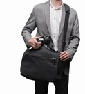 Tenba 天霸 Cooper 15 酷拍 肩背帆布包 攝影肩背包 【窄版 637-406 】公司貨