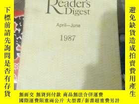 二手書博民逛書店Reader,S罕見Digest(April―June1987)